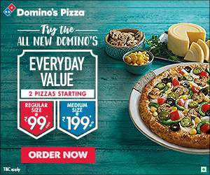 Dominos offers, Dominos coupons, Dominos promo codes, and Dominos coupon codes