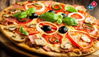Dominos Offer : Any 2 Medium Hand Tossed Pizzas of Rs 365 for Rs 249 each